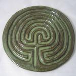 Celtic finger labyrinth